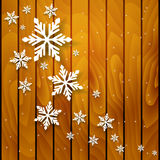 Tarjeta de la invitación de la Navidad del vector o del Año Nuevo Fotografía de archivo libre de regalías