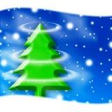Tarjeta de la invitación de Navidad Fotografía de archivo