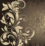 Tarjeta de la invitación del damasco libre illustration