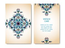 Tarjeta de la invitación del vector Imagen de archivo libre de regalías