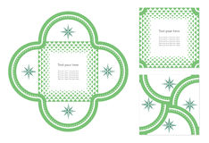 Tarjeta de la invitación del vector ilustración del vector