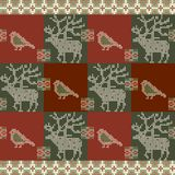 Tarjeta de la invitación de la Navidad Ilustración del vector Foto de archivo