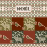 Tarjeta de la invitación de la Navidad Ilustración del vector Foto de archivo libre de regalías