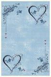 Tarjeta de la invitación Foto de archivo libre de regalías