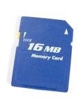 Tarjeta de la memoria Fotos de archivo libres de regalías