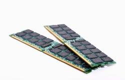 Tarjeta de la memoria RAM del ordenador imagen de archivo