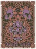 Tarjeta de la muerte Imagen de archivo