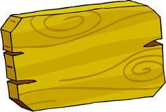 Tablero de la muestra - madera Foto de archivo libre de regalías