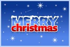 Tarjeta de la Navidad y del Año Nuevo Fotos de archivo
