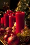 Tarjeta de la Navidad y del Año Nuevo Imagenes de archivo