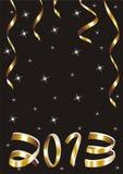 Tarjeta de la Navidad y del Año Nuevo ilustración del vector
