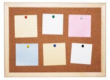 Tarjeta de la nota imagenes de archivo