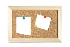 Tarjeta de la nota Fotos de archivo libres de regalías