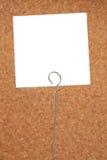 Tarjeta de la nota Fotos de archivo