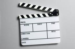 Tarjeta de la pizarra del director Fotografía de archivo libre de regalías