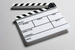 Tarjeta de la pizarra del director fotos de archivo libres de regalías