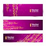 Tarjeta de la plantilla de la promoción del vector Foto de archivo