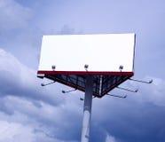 Tarjeta de la publicidad. Imagen de archivo