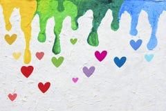 Tarjeta de la tarjeta del día de San Valentín Foto de archivo libre de regalías