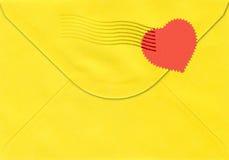 Tarjeta de la tarjeta del día de San Valentín. Imágenes de archivo libres de regalías