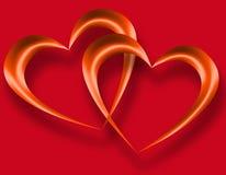Tarjeta de la tarjeta del día de San Valentín libre illustration
