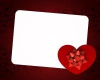 Tarjeta de la tarjeta del día de San Valentín del día Libre Illustration