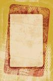 Tarjeta de la vendimia Imagenes de archivo