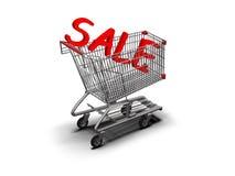 Tarjeta de las compras Fotos de archivo libres de regalías