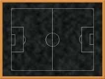 Tarjeta de las táctica del fútbol libre illustration