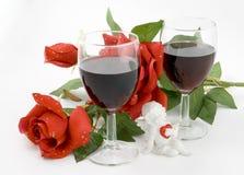 Tarjeta de las tarjetas del día de San Valentín Foto de archivo libre de regalías