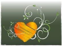Tarjeta de las tarjetas del día de San Valentín Imagen de archivo libre de regalías