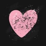 Tarjeta de las tarjetas del día de San Valentín Imagenes de archivo