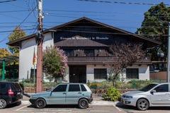 Tarjeta de los concejales Gramado Foto de archivo libre de regalías