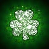 Tarjeta de los días del St Patricks Imagenes de archivo