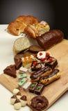 Tarjeta de los pasteles Fotografía de archivo
