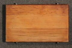 Tarjeta de madera Fotos de archivo