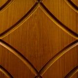 Tarjeta de madera con las líneas talladas Fotos de archivo