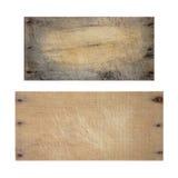 Tarjeta de madera de la textura Fotos de archivo libres de regalías