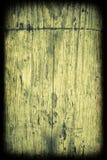 Tarjeta de madera del grunge verde Imagen de archivo libre de regalías