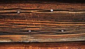 Tarjeta de madera resistida Imagenes de archivo