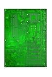Tarjeta de madre del ordenador imagen de archivo
