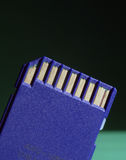 Tarjeta de memoria de Digitaces fotos de archivo libres de regalías