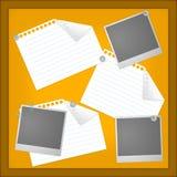 Tarjeta de mensaje Stock de ilustración