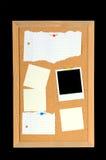 Tarjeta de mensaje foto de archivo libre de regalías