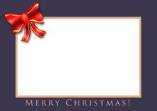 Tarjeta de Navidad 03 Fotos de archivo libres de regalías