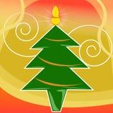Tarjeta de Navidad Imagen de archivo libre de regalías