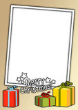 Tarjeta de Navidad 17 Imagen de archivo