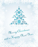 Tarjeta de Navidad 2013 Foto de archivo