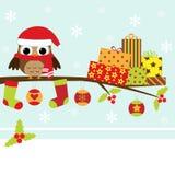 Tarjeta de Navidad Fotos de archivo libres de regalías