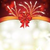 Tarjeta de Navidad Imagen de archivo